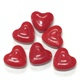 Hearts Pressed Candy Red 10 oz