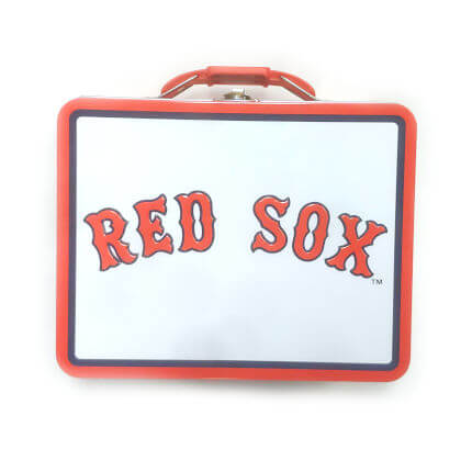Red Sox Embossed Lunch Box