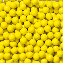 Sixlets Golden Yellow 1 lb