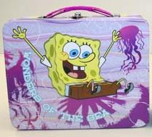 SpongeBob SquarePants Embossed Lunch Box