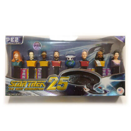 Pez Collectible Star Trek