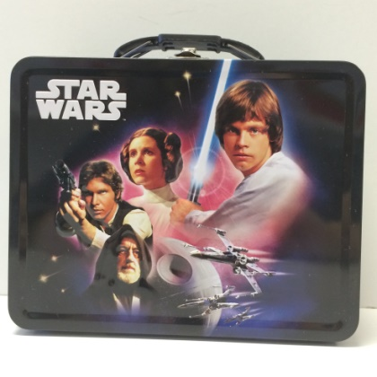Star Wars Embossed Lunch Box