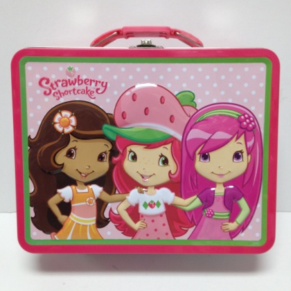 Strawberry Shortcake Pink Lunch Box