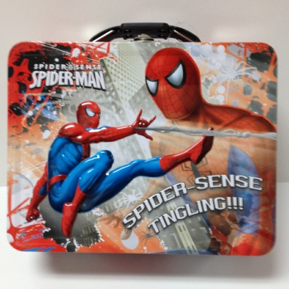 Spider Man Spider Sense Tingling Lunch Box