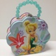 Disney Tinker Bell Teal Flower Tin