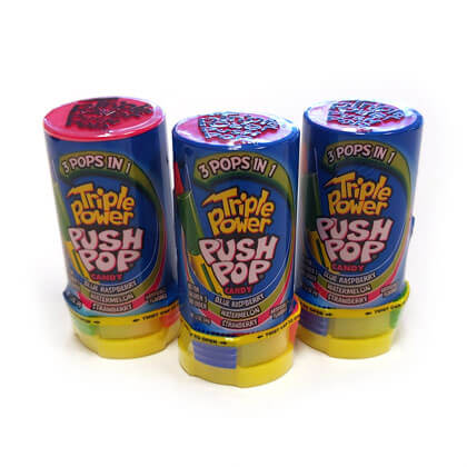 Push Pop Triple Power 3 ct