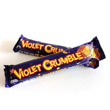 Violet Crumble Bar 1 ea