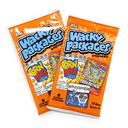 Wacky Packages Stickers Series 9